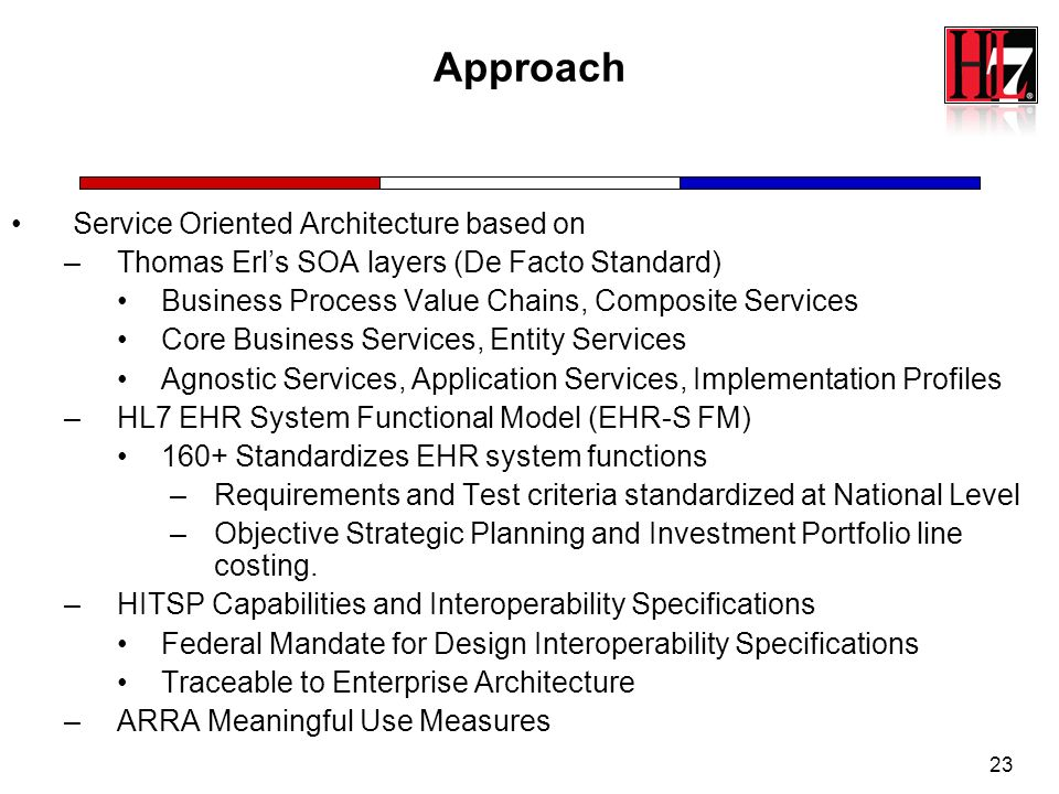 Approach Service Oriented Architecture based on