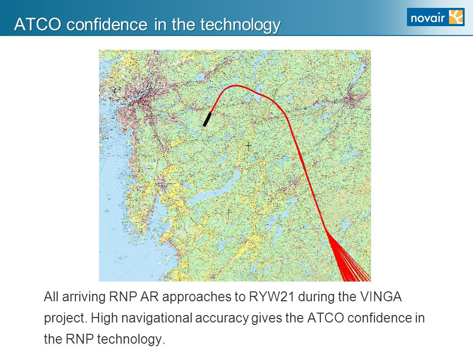 ATCO confidence in the technology