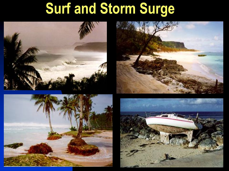 Surf and Storm Surge