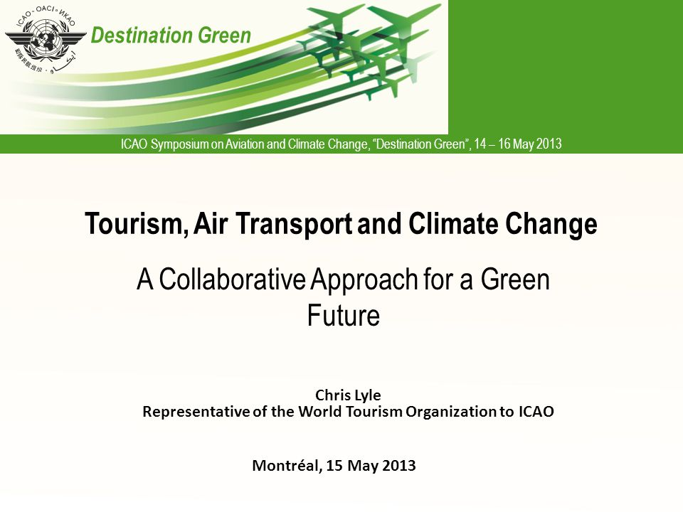 Tourism, Air Transport and Climate Change