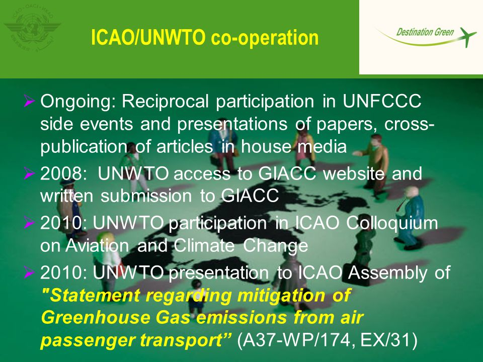 ICAO/UNWTO co-operation