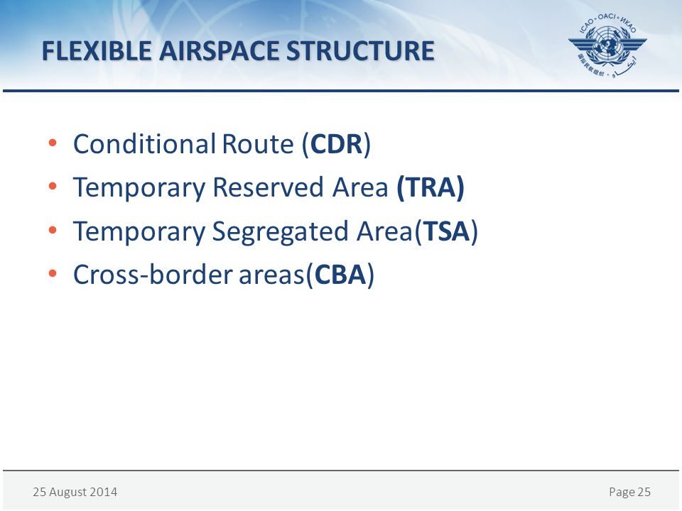 FLEXIBLE AIRSPACE STRUCTURE