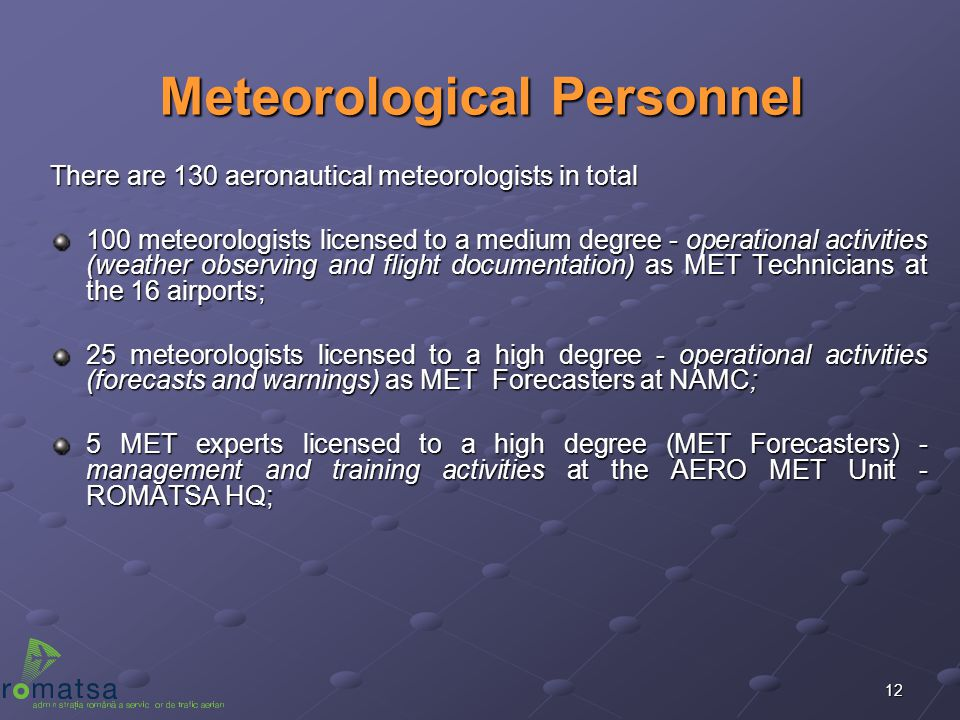 Meteorological Personnel