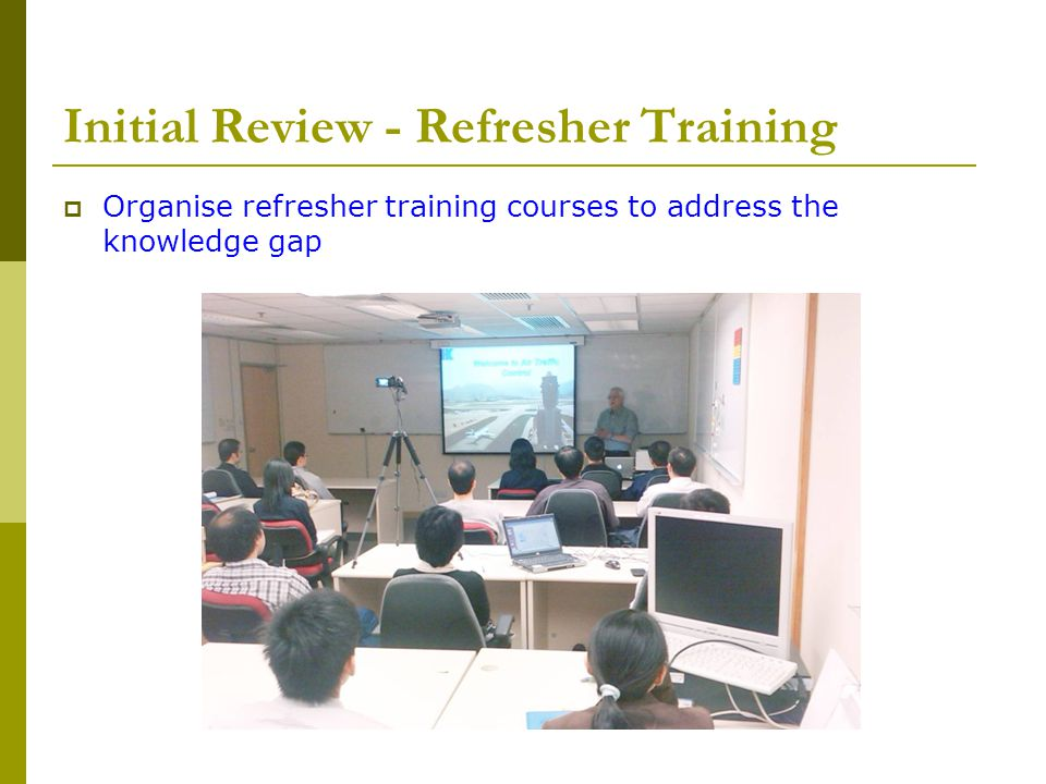 Initial Review - Refresher Training
