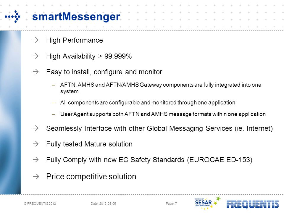 smartMessenger Price competitive solution High Performance