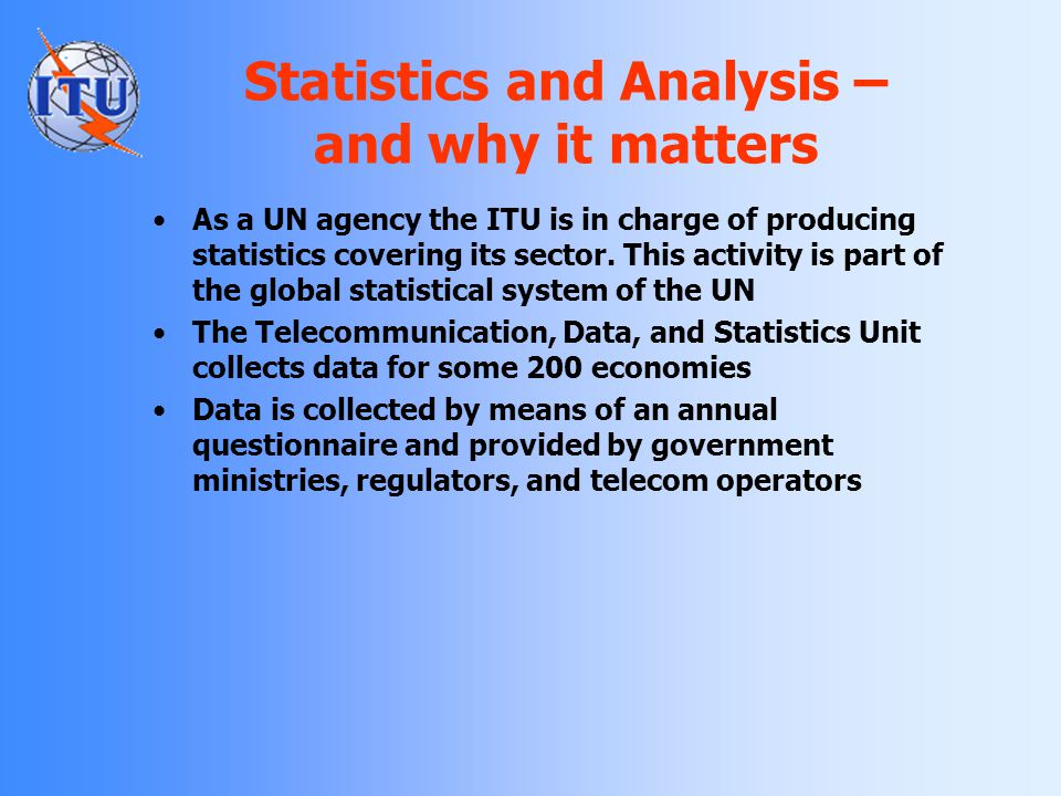Statistics and Analysis – and why it matters