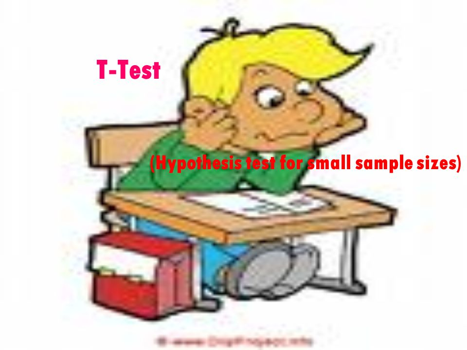 (Hypothesis test for small sample sizes)