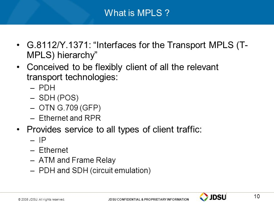 G.8112/Y.1371: Interfaces for the Transport MPLS (T-MPLS) hierarchy