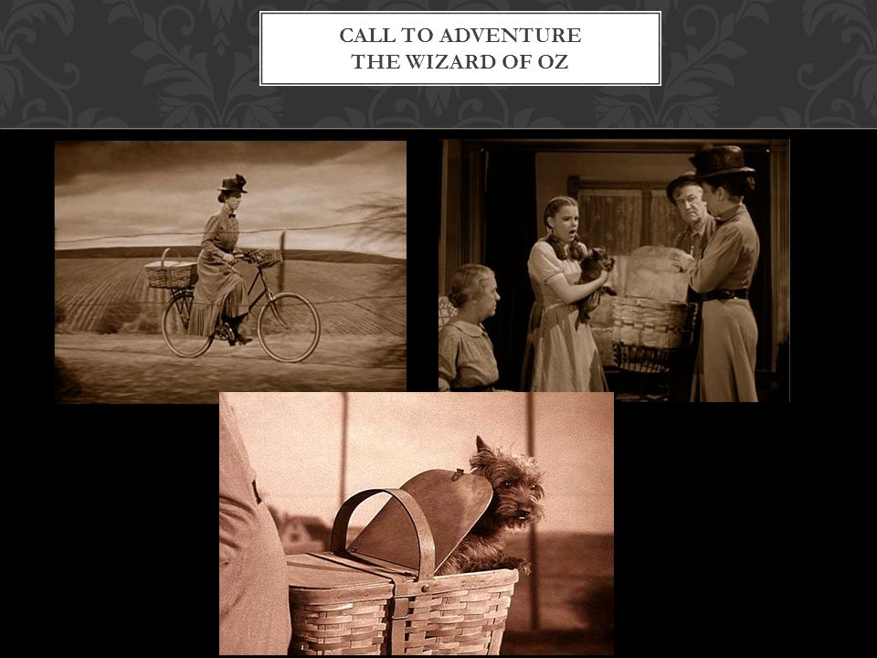 Call To Adventure The Wizard of Oz