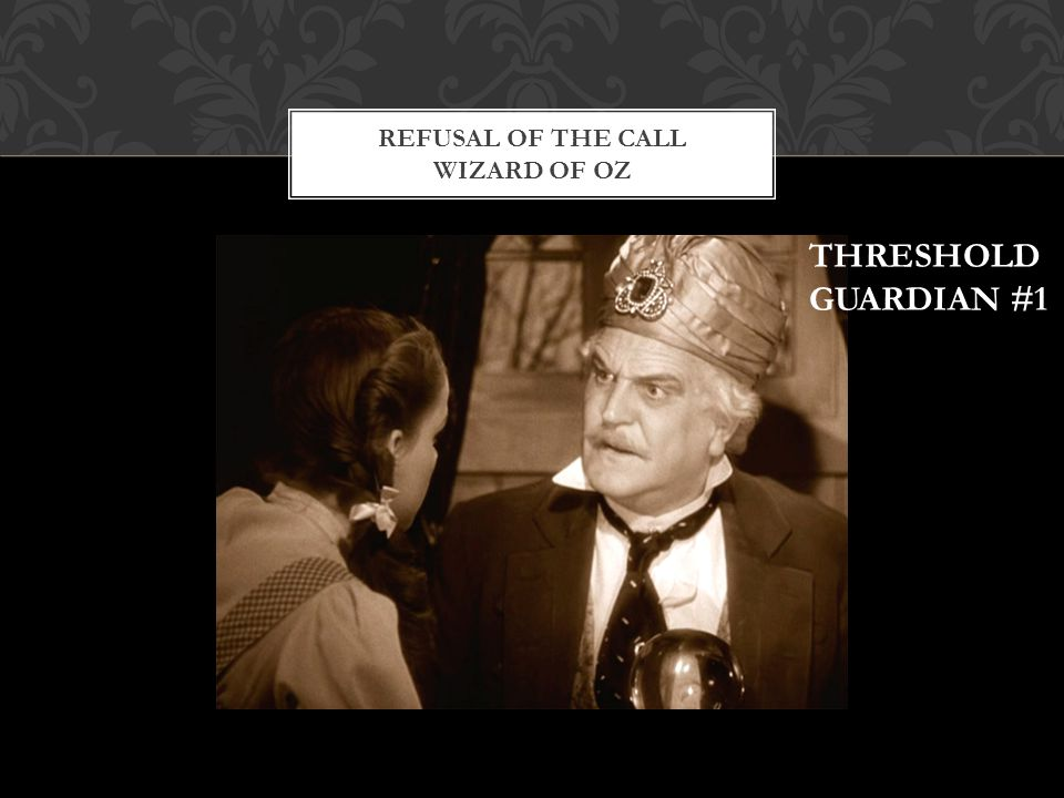 Refusal of the Call Wizard of Oz