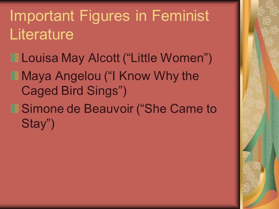 Important Figures in Feminist Literature