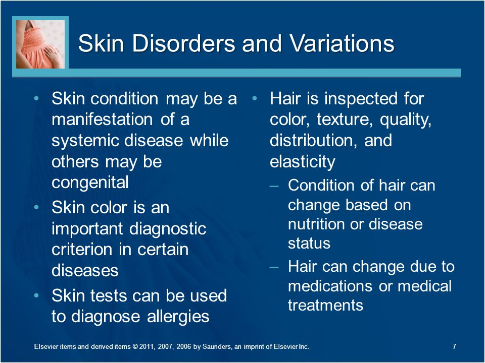 Skin Disorders and Variations