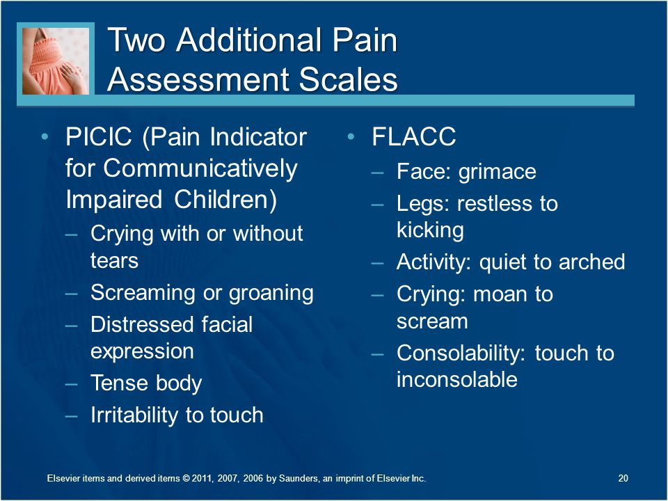 Two Additional Pain Assessment Scales