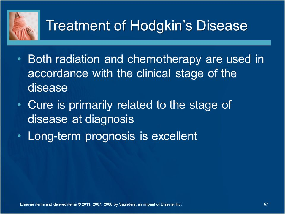 Treatment of Hodgkin's Disease
