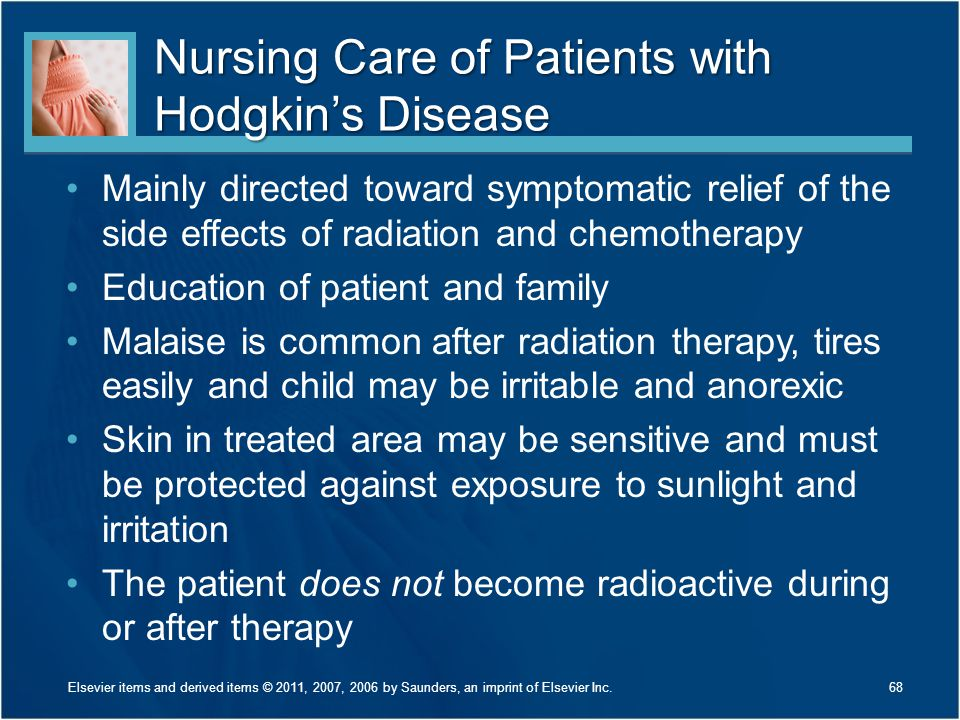 Nursing Care of Patients with Hodgkin's Disease
