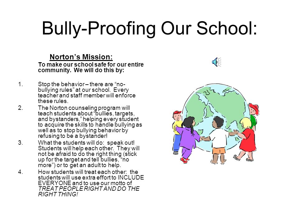 Bully-Proofing Our School: