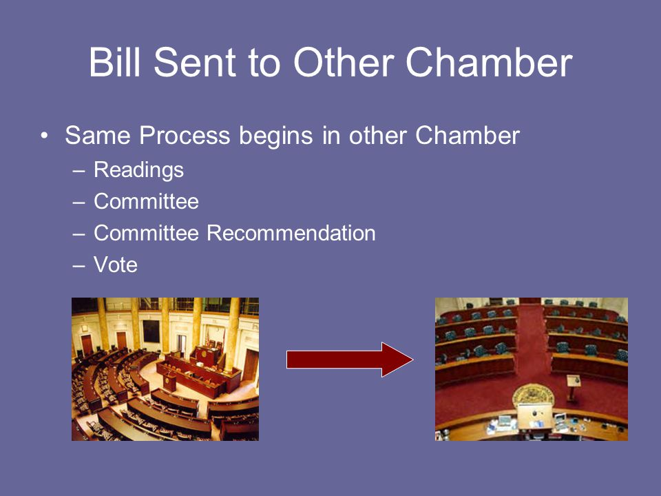 Bill Sent to Other Chamber