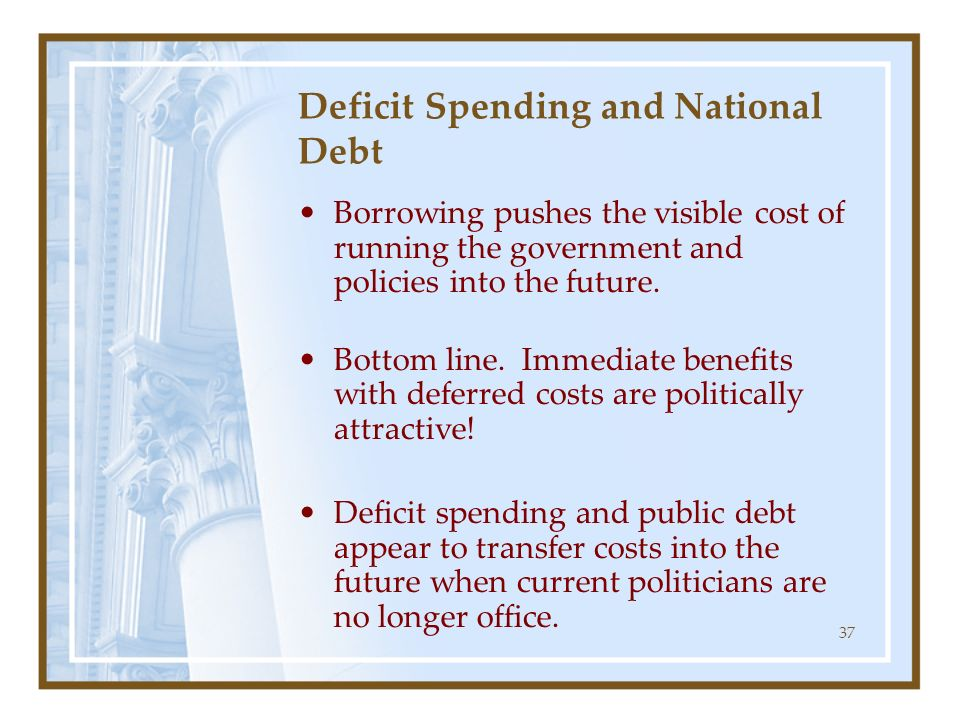 Deficit Spending and National Debt