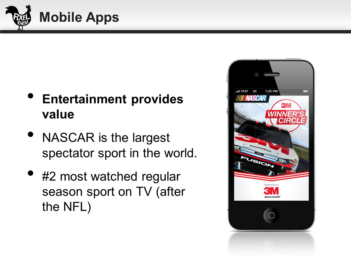 Mobile Apps Entertainment provides value