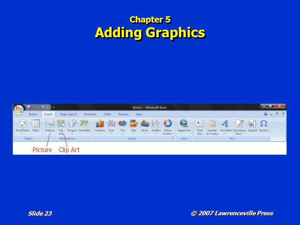 Chapter 5 Adding Graphics