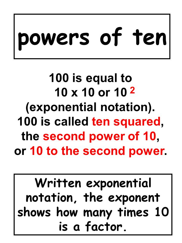 (exponential notation).