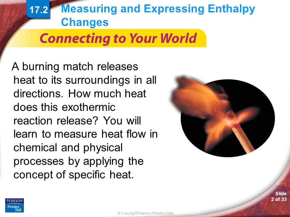 Measuring and Expressing Enthalpy Changes