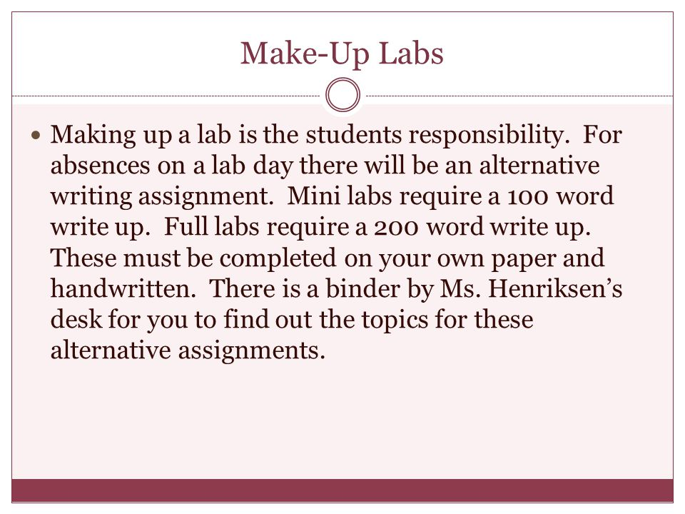 Make-Up Labs