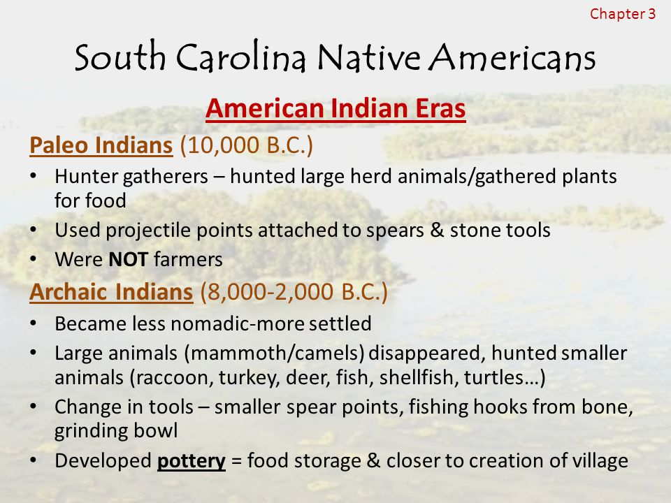 South Carolina Native Americans