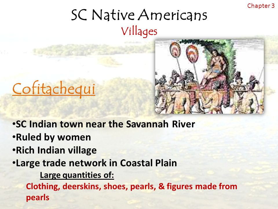 SC Native Americans Villages