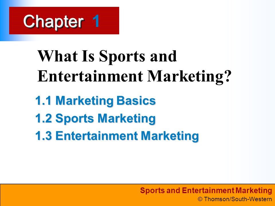 What Is Sports and Entertainment Marketing