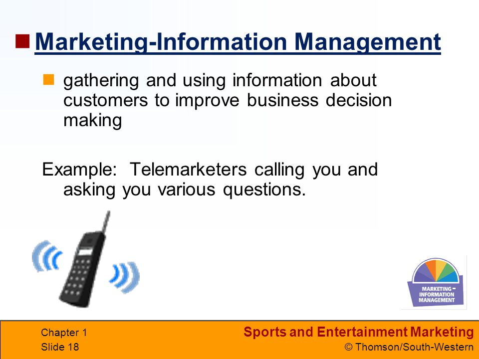 Marketing-Information Management