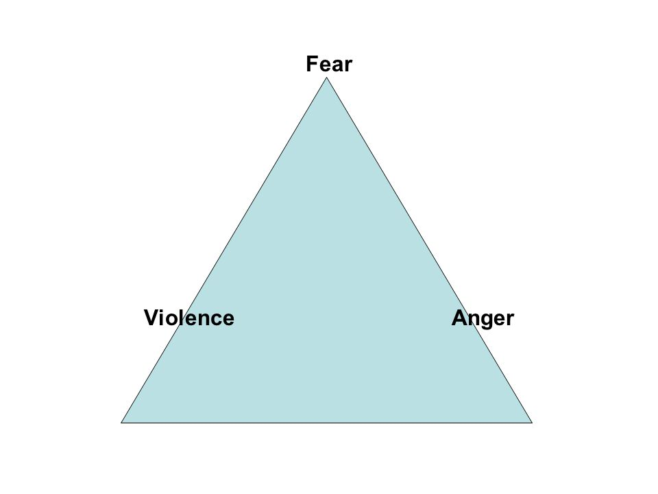 Fear Violence Anger