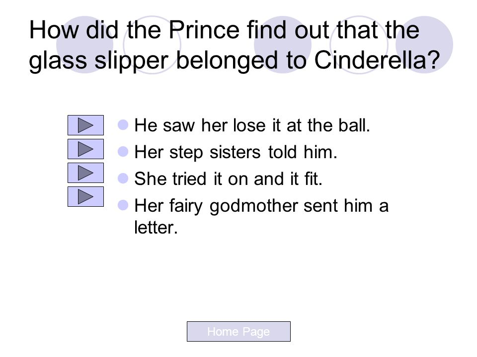 How did the Prince find out that the glass slipper belonged to Cinderella