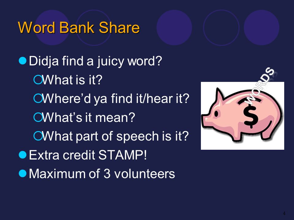 Word Bank Share Didja find a juicy word What is it