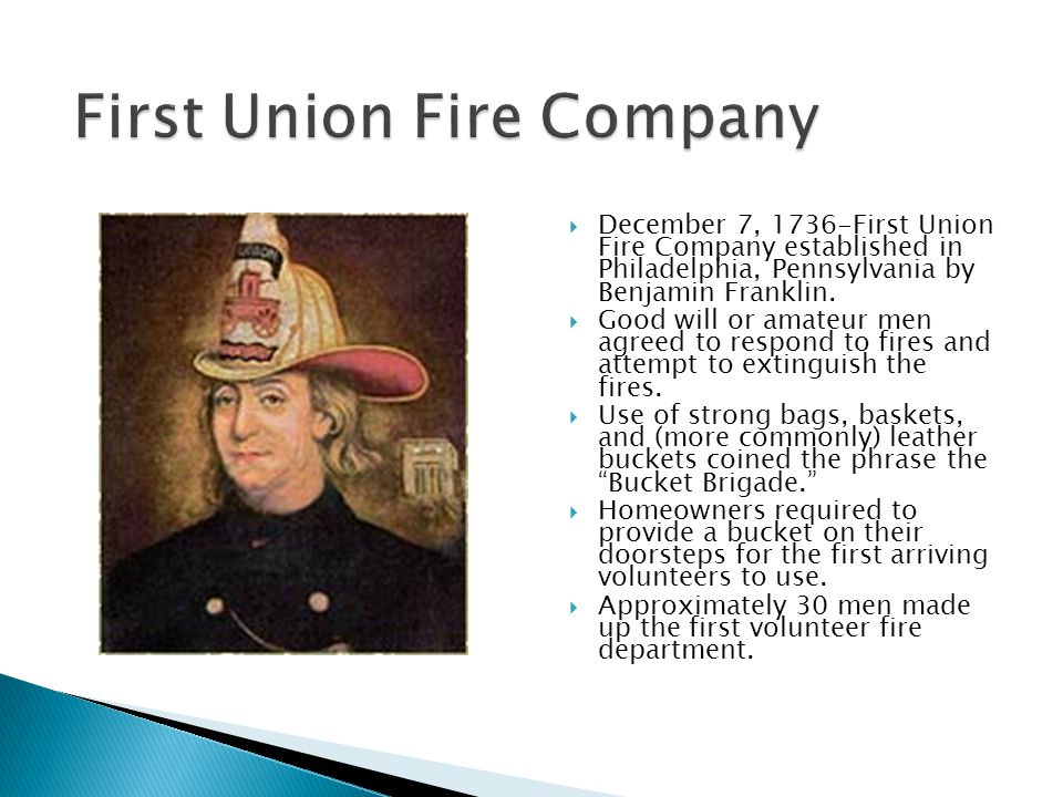 First Union Fire Company