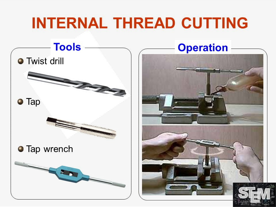 INTERNAL THREAD CUTTING