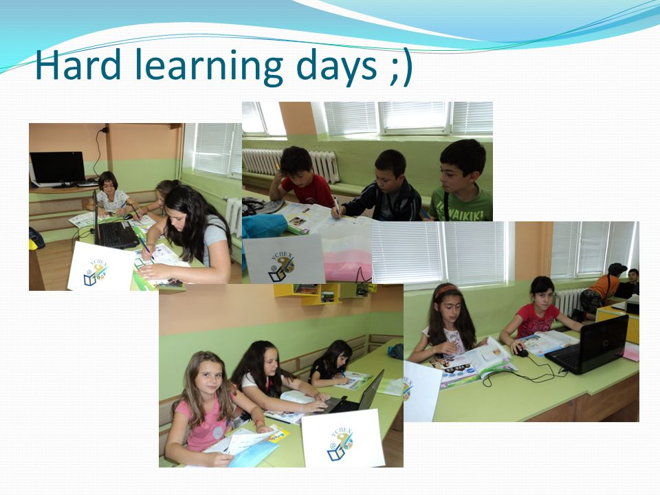 Hard learning days ;)