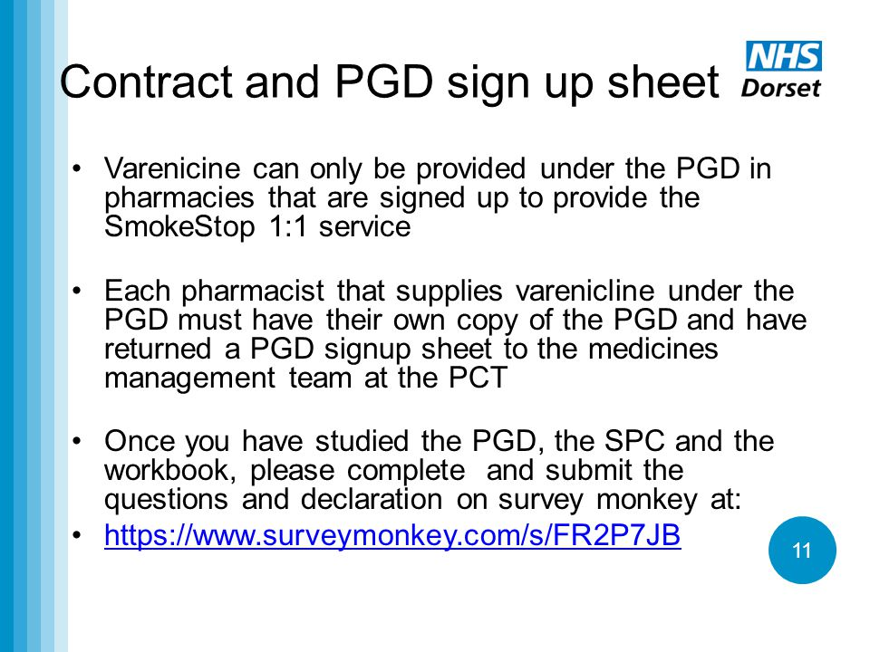 Contract and PGD sign up sheet