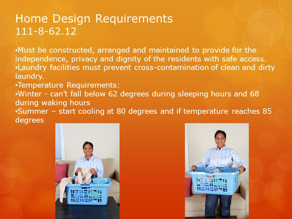 Home Design Requirements
