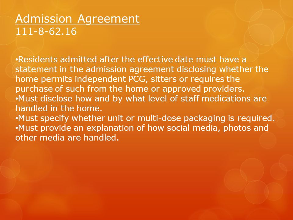 Admission Agreement 111-8-62.16
