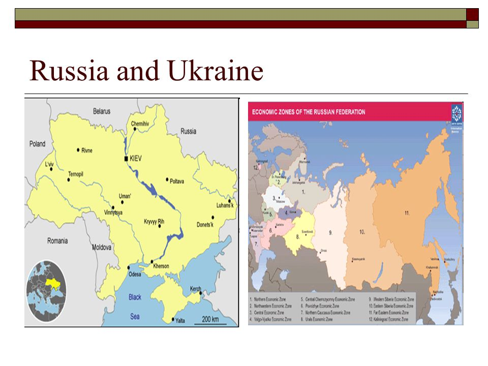 Russia and Ukraine