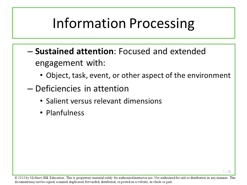 Information Processing