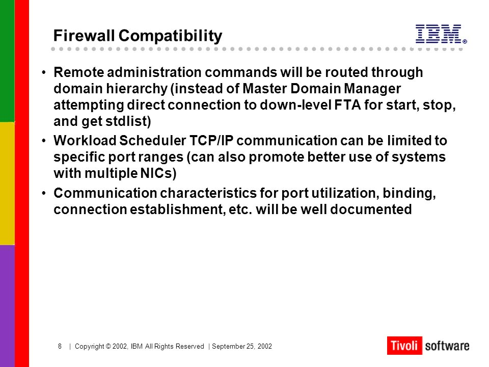 Firewall Compatibility