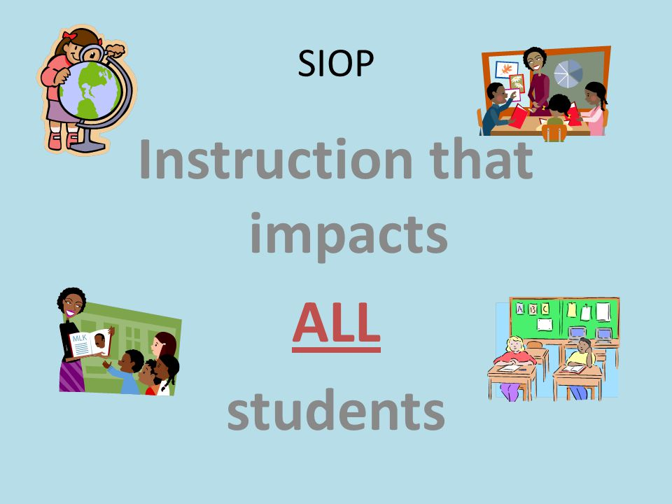 Instruction that impacts