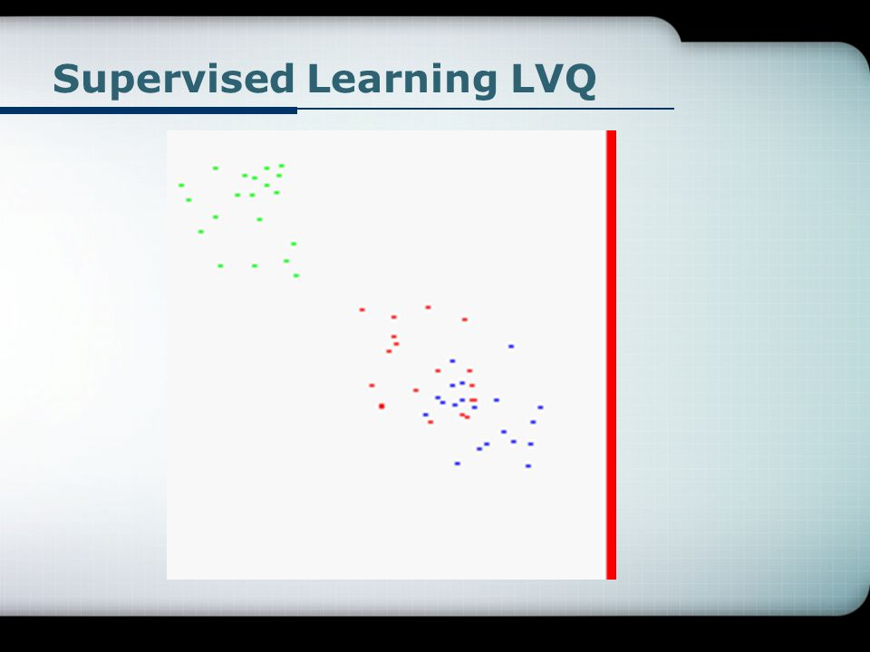Supervised Learning LVQ