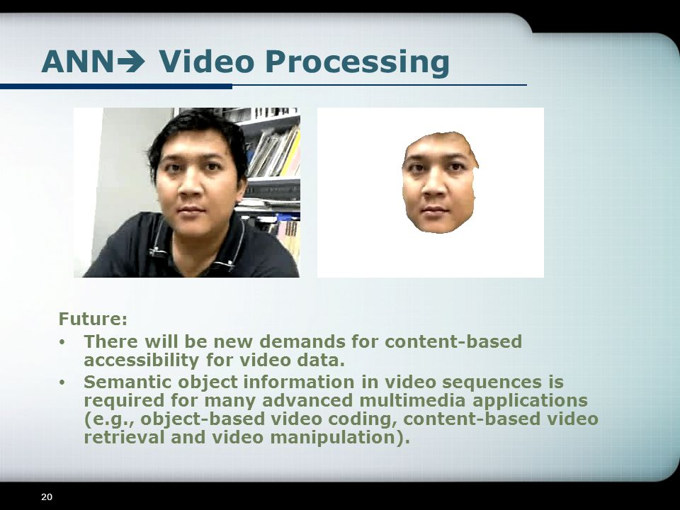 ANN Video Processing Future:
