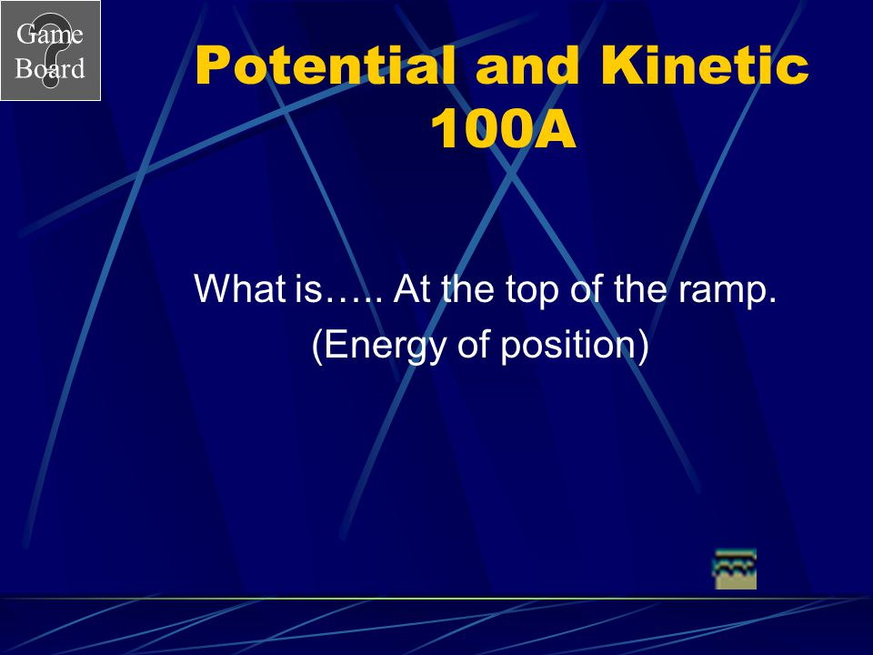 Potential and Kinetic 100A