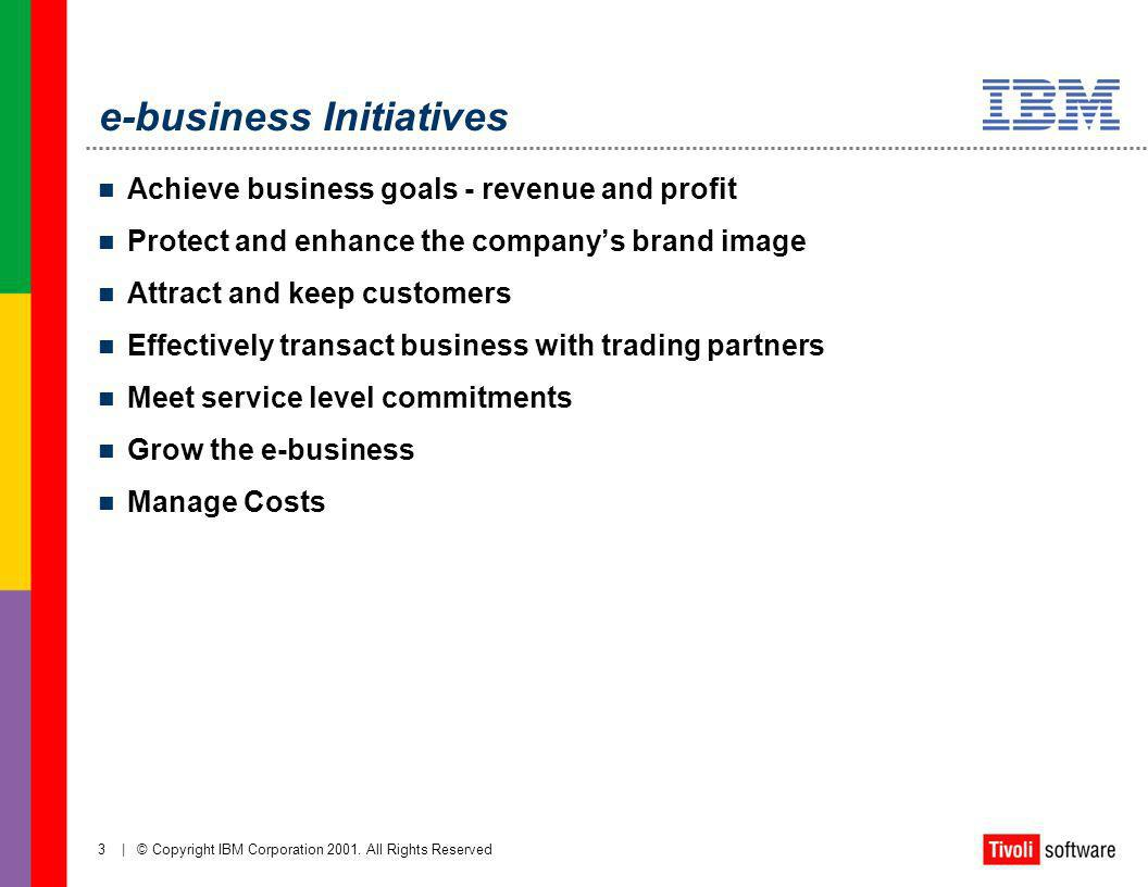 e-business Initiatives