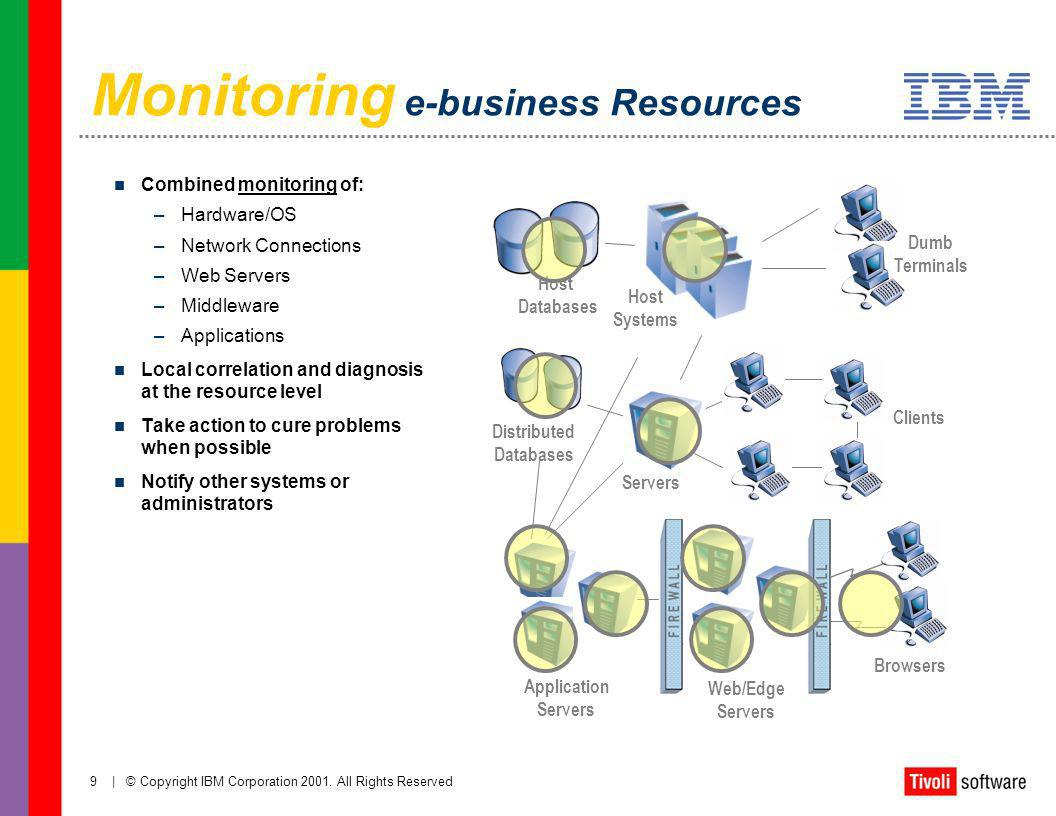 Monitoring e-business Resources