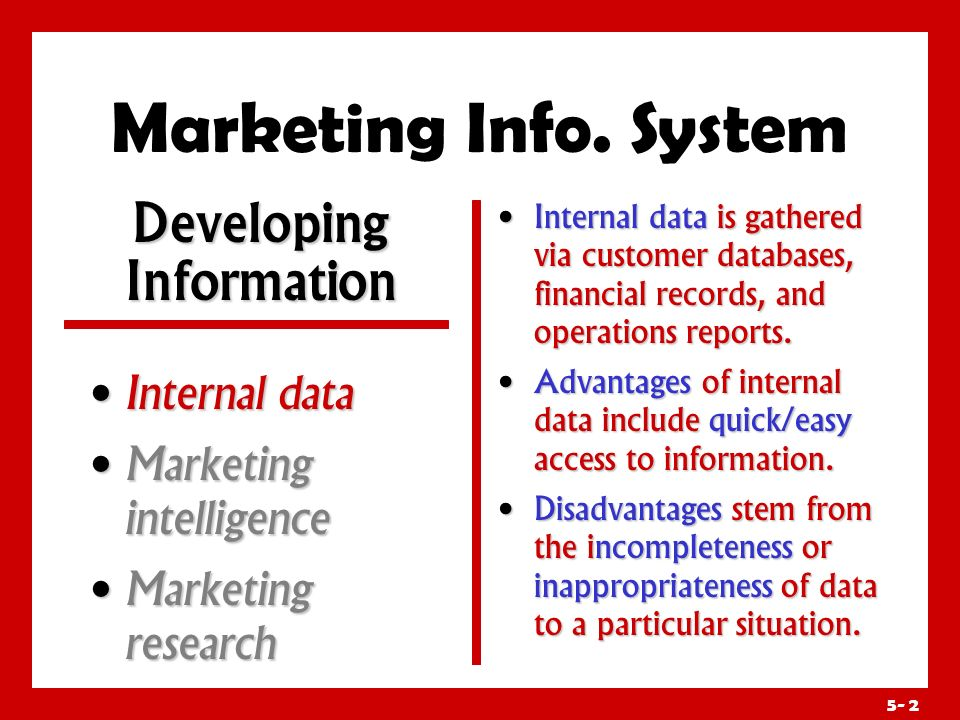 advantages and disadvantages of marketing information system
